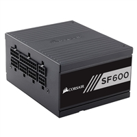 Corsair SF600 600 Watt 80 Plus Gold SFX Fully Modular Power Supply