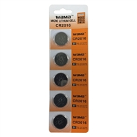 Dantona Industries 3V Lithium Battery CR2016 5-pack