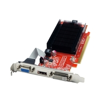 Visiontek Radeon HD 5450 Low-Profile Passive Cooled 1GB DDR3 PCIe 2.1...