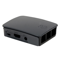 Raspberry Pi Raspberry Pi Official Case - Black/Grey