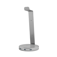 Satechi Aluminum Headset Stand & USB Hub - Space Grey