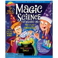 Poof-Slinky Magic Science Kit for Wizards Only