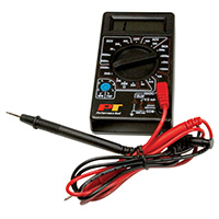 Performance Tools Digital Multi-Meter Tester