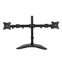 "SIIG 13"" -27"" Articulated Freestanding Dual Monitor Desk Stand"