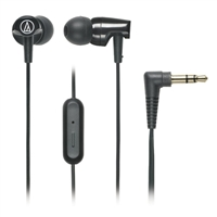Audio-Technica SonicFuel Earbuds w/ Mic - Black