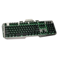 IOGear Kaliber Gaming HVER Illuminated Membrane Gaming Keyboard