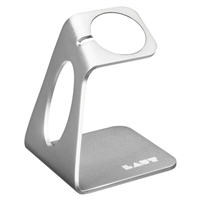Laut Watch Stand for Apple Watch - Silver