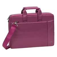 "RIVACASE Laptop Bag Fits Screens up to 15.6"" - Purple"