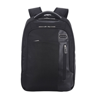 "Eco Style Tech Exec Checkpoint Friendly Backpack Fits Screens up to 15.6"" - Black"