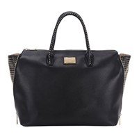 "Sandy Lisa Milan Wing Tote Fits Screens up to 15.6"" - Black"