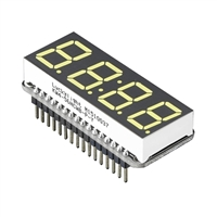 "Adafruit Industries 0.56"" 4-Digit 7-Segment Display w/ FeatherWing - White"
