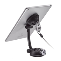 CTA Digital Suction Mount Stand w/ Anti-Theft Lock for Tablets