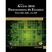 Stylus Publishing Microsoft Access 2016 Programming by Example
