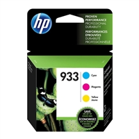 HP 933 C/M/Y Color Ink Cartridge Combo 3-Pack