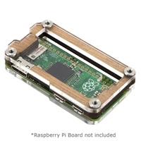 C4Labs Zebra Zero Raspberry Pi Zero Type 2 Case - Wood