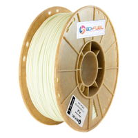 3D-Fuel 1.75mm Natural PLA 3D Printer Filament - 1kg Spool (2.2 lbs)