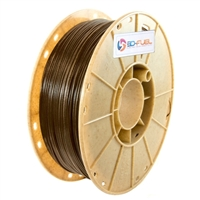 3Dom Fuel 1.75mm Hemp Filled Natural 3D Printer Filament - 0.5kg Spool (1.1 lbs)