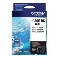 Brother LC20EBK XXL Super High Yield Black Ink Cartridge