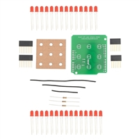 Elenco 3x3x3 Red LED Arduino Cube Shield Kit