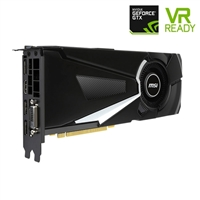 MSI AERO GeForce GTX 1080 Overclocked Single-Fan 8GB GDDR5 PCIe Video Card