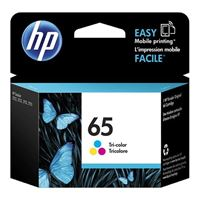 HP 65 Tri-color Ink Cartridge