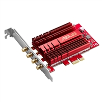 ASUS PCE-AC88 4x4 802.11ac Wireless-AC3100 PCIe adapter