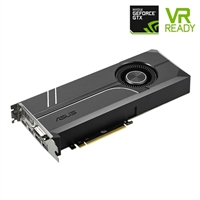 ASUS Turbo GeForce GTX 1080 Overclocked Single-Fan 8GB GDDR5X PCIe Video Card