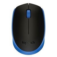 Logitech M170 Wireless Mouse - Blue