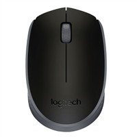 Logitech M170 Wireless Mouse - Black