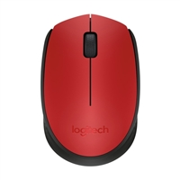 Logitech M170 Wireless Mouse - Red