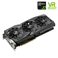 ASUS Strix GeForce GTX 1060 Overclocked Triple-Fan 6GB GDDR5 PCIe Video Card