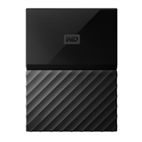 "WD My Passport 4TB USB 3.0 2.5"" Portable External Hard Drive - Black"
