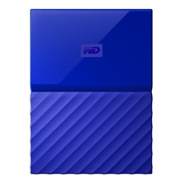 "WD My Passport 4TB USB 3.0 2.5"" Portable External Hard Drive - Blue"