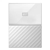 "WD My Passport 4TB USB 3.1 (Gen 1 Type-A) 2.5"" Portable External Hard Drive - White"