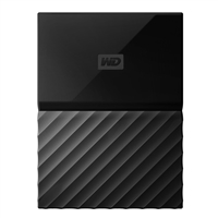 Photo - WD My Passport 1TB USB 3.0 2.5 Portable External Hard Drive - Black