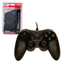 Innex PS3 - Controller - Wired - USB Controller - PC Compatible - Black (TTX Tech)