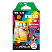 Fujifilm Instax Mini 8 Rainbow Film 10 Shots