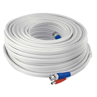 Swann Communications 15m/50ft BNC 960H/AHD/TVI Extension Surveillance Camera Cable, White (SWPRO-15MTVF-GL)