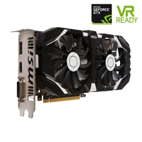 MSI GeForce GTX 1060 Overclocked Dual-Fan 3GB GDDR5 PCIe Video Card