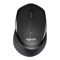 Logitech M330 Wireless Silent Plus - Black