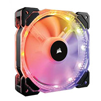 Corsair HD120 RGB Hydraulic Bearing 120mm Case Fan - Triple Pack