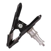 Dot Line Spring Clamp with Post 3x4.5in