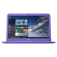 "HP Stream 14-ax020nr 14.0"" Laptop Computer - Violet Purple"