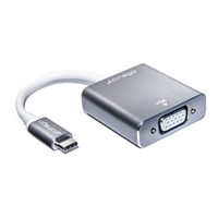 Cirago USB-C to VGA Adapter - Gray