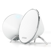 Satechi Dual Sonic Conical v2 Computer Speakers - White