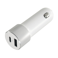 Satechi Aluminum USB Type-C Car Charger - Silver