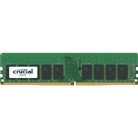 Crucial 16GB DDR4-2400 PC4-19200 CL16 Single Channel Server Memory Module