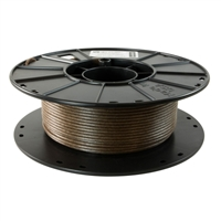 3Dom Fuel 2.85mm Entwined Hemp Filled Natural 3D Printer Filament - 0.5kg Spool (1.1 lbs)