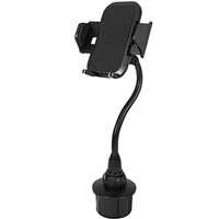 MacAlly Grip Clip Cup Holder  Phone Mount - Black