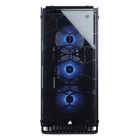 Corsair Crystal 570X RGB ATX Mid-Tower Computer Case - Black/Clear